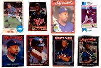 (8) Kirby Puckett Odd-Ball Baseball Card Lot Minnesota Twins