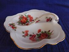 Royal Albert Centennial Rose RELISH DISH (LEAF)  *have more items to set*