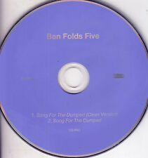 BEN FOLDS FIVE Song For The Dumped CD Single PROMO
