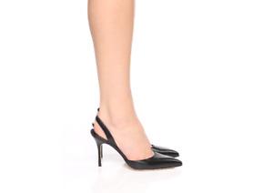 Manolo Blahnik Women's Carolyne 90 Leather Slingback Pump Heel Shoes $825 Sz 40