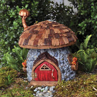 Shingletown Mushroom Fairies Gnome Home Fiddlehead Fairy Garden House Miniature