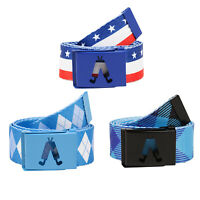 Royal And Awesome Mens Golf Belt 3 Styles for Trousers Shorts Plus 2`s 38` Waist