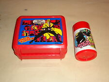 Dick Tracy lunchbox and thermos 90's