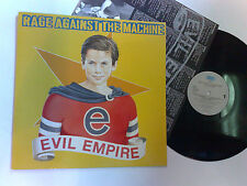 RAGE AGAINST THE MACHINE EVIL EMPIRE 1996 EPIC LP WITH INNER 5099748102614