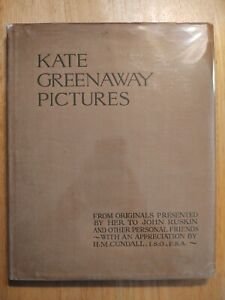 Kate Greenway Pictures 1st edition rare illustrations