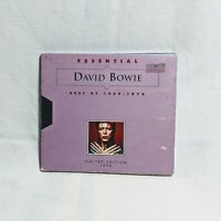 David Bowie Essential Best Of 1969-1974 Limited Edition CD