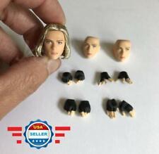 "1/12 Scarlett Johansson Head Sculpt with Hands For 6"" TBLeague T01 Figure"