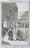 Notre Dame de Paris en 1790 Révolution Française M de Favras Révolution de Paris