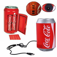 8W USB Mini Car Auto Coca Bottle Coke Can Fridge Refrigerator Cooler Cooling