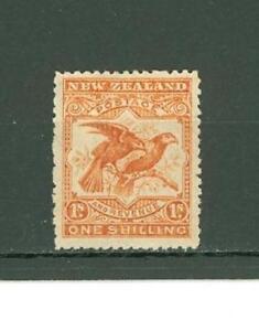 RRR A93 New Zealand 1907 MLH Birds CV 170 eur