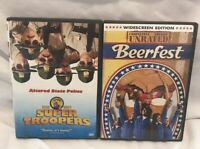 Supertroppers And Beerfest DVD Lot Unrated