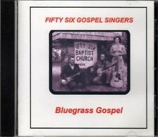 Bluegrass Gospel ~ The Fifty Six Gospel Singers ~ Christian ~ CD Album ~ Used VG