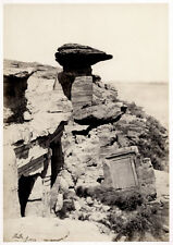 c.1857  PHOTO EGYPT FRITH VIEW IN THE QUARRIES AT HAGAR SILSILIS