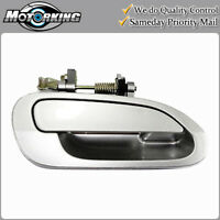 NEW B527 For 1998-2002 Honda Accord Outside Door Handle Rear Left Silver NH-623