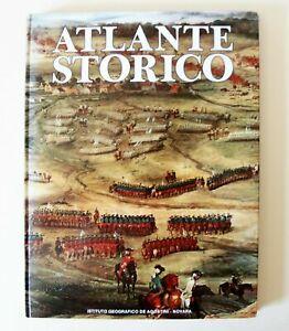 CARTOGRAFIA - ATLANTE STORICO DE AGOSTINI, 1979