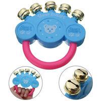 Bébé enfants hochet handbells développement jouets main secouant clo ITHWC