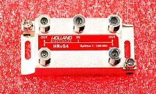 4-WAY HOLLAND HRV-S4 HRVS4 SATELLITE DIODE SPLITTER DIRECTV 2-2400MHz NEW #O202