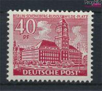 Berlin (West) 52 postfrisch 1949 Berliner Bauten (9223643
