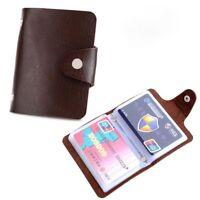 Vintage Wallet Credit Card ID Card Clip Paper Money Bag Case Holder Business