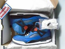 JORDAN SPIZIKE Blue Ribbon/Orange Flash-Black-White OG Nike 315371 405 Size 10