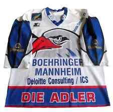 Adler Mannheim Camiseta Hockey Eishockey Icehockey #65 Kirchener