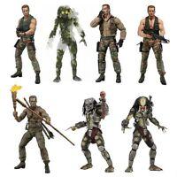 Predator Schwarzenegger Figur NECA Jungle Hunter Dutch Action Film Figuren OVP