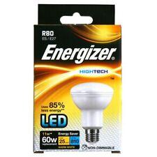 5 x Ampoule réflecteur 12w LED E27 R80 2700k blanc très chaud (Energizer s9016)
