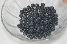 50pcs 10mm Disco Ball Czech Crystal Heart bead fit Shambhala Bracelet bead 0008
