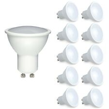 10x Dimmable GU10 6W SMD LED Lamps Spot Integrate Light Bulbs Spotlight Cool WH
