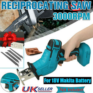 Cordless Electric Reciprocating Saw Outside Saber Cutting For Makita Battery UK
