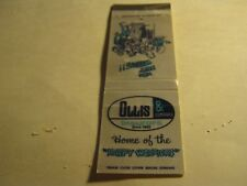 Vintage Ollis & Company Insurors Home of Happy Worriers Springfield MO Matchbook