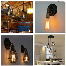 3 Way Retro Industrial Vintage Pendant Ceiling Chandelier /Wall Light Cover Lamp