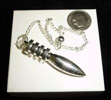 Silver Bullet Power Pendulum 18 grams Crystal Healing