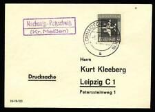 574905) DDR Landpostblg. Neckanitz Petz. Kr. Meißen