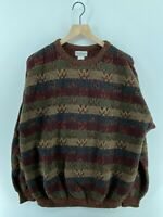 Norm Thompson Portland Coogi Natural Earthy Sweater Men's XL Made in USA - READ