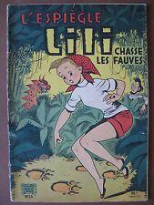 L'ESPIEGLE LILI CHASSE LES FAUVES (1957)