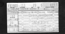 1987 David Bowie Concert Ticket Stub Glass Spider Tour Sullivan Stadium Heroes