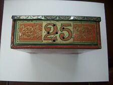 1888 RARE HAVANETTS CIGAR TOBACCO TIN TAX STAMP Richmond, VA. USA