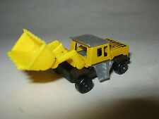 """Small Yellow Plastic GS Construction Front Loader, 2 1/2"""" long, 1"""" tall (EB7-13)"""