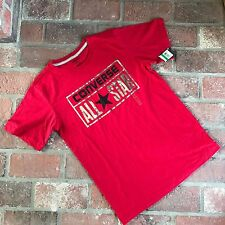 Converse All Star Red shirt  Youth Size Large 12-13 years