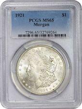 1921-P Morgan Silver Dollar PCGS MS65