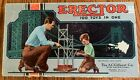 Vintage Erector Set No. 6 1/2 The A.C.Gilbert Co. 1950's in box not metal case.