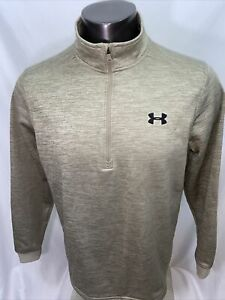 Mens Under Armour  Cold Gear1/4 Zip Pullover Large - Fleece Lined