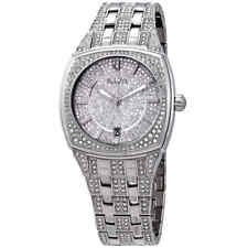 Bulova Swarovski Crystal Pave Men's Watch 96B296