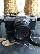 Canon AE-1 35mm Film Camera With 50mm Lens