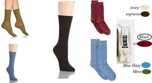 Hue Women's Socks Waffle Tweed Cotton Socks One Size