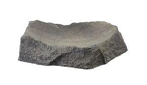Futterschale Futterstelle Wasserstelle für Terrarien Größe M aus Graphikstein®