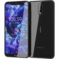 Nokia 5.1 Plus X5 (Unlocked) 32GB 4G LTE  5.8in 13MP 3GB RAM Black