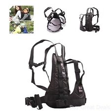 Childrens Belt Motorcycle Safety Harness Strap Security Buckle Back Seat Height