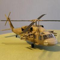 1:33 U.S. Black Hawk UH-60 Helicopter DIY 3D Paper Card Model Toy GU_X